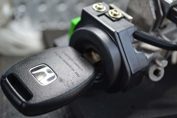 Honda ignition key