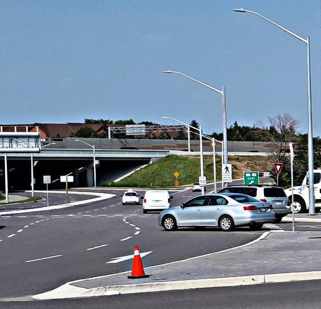Ottawa Homer Watson Roundabout